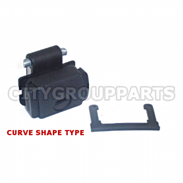 VOLKSWAGEN POLO MK 95 TO 2000 GLOVE BOX LOCK CATCH MECHANISM CURVE SHAPE TYPE